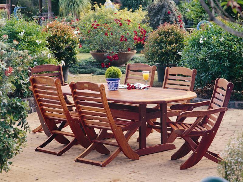 Мебель для террасы из дерева