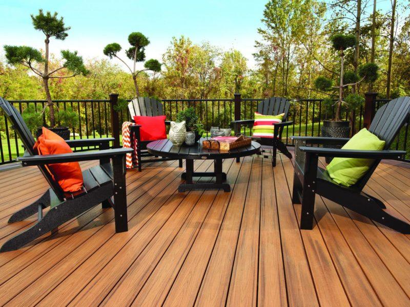 Деревянная мебель для веранды и террасы