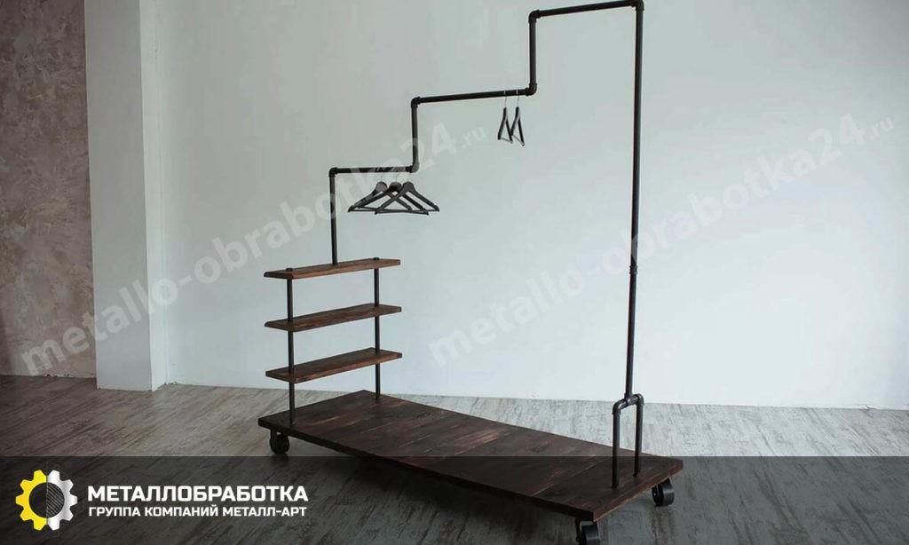 Мебель лофт из труб