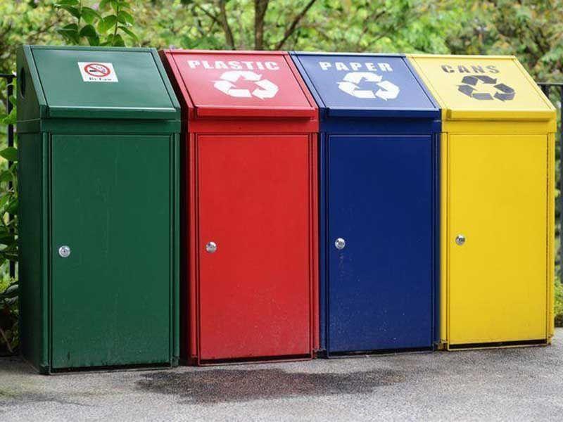 Уличный контейнер для мусора