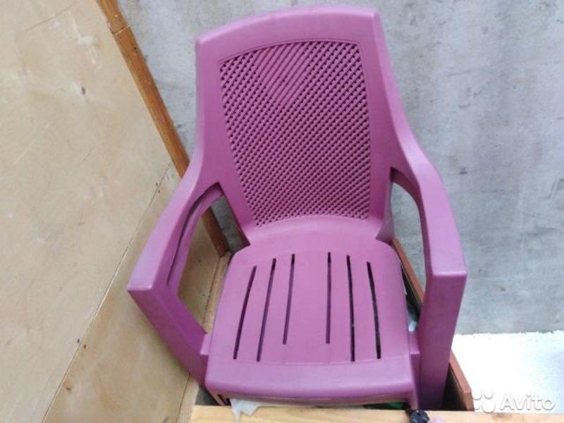 Пластиковое кресло для дачи