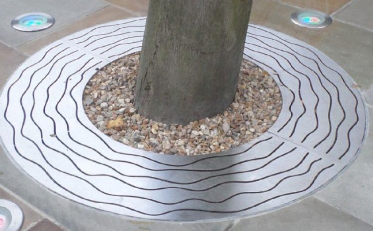 Приствольная решетка для дерева