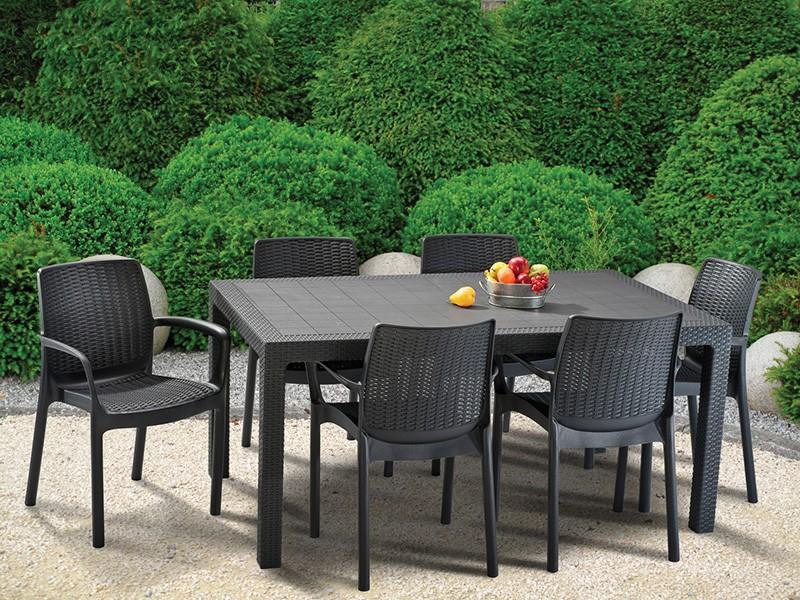 Пластиковый садовый стол