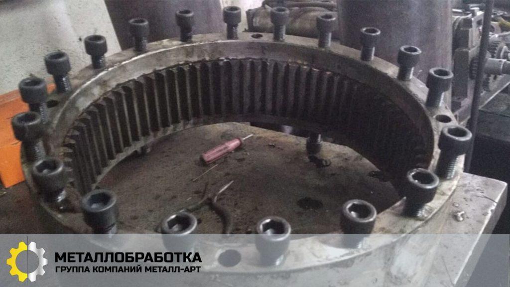 Производство шестнерней
