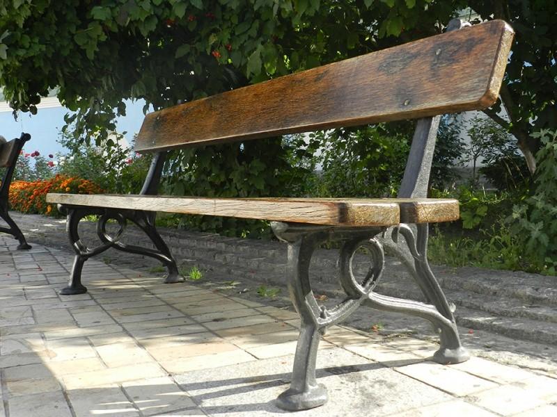 Чугунные скамейки от производителя