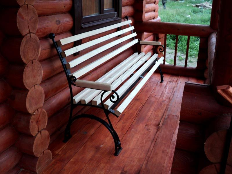 Скамейка на дачу