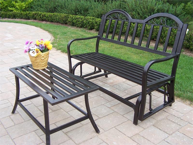 Скамейки садовые из металла
