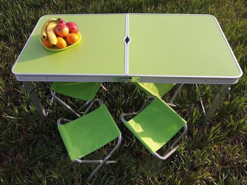 Стол для пикника раскладной набор со стульями