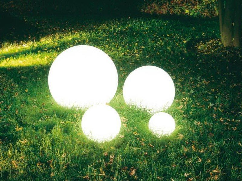 Светильник уличный шар