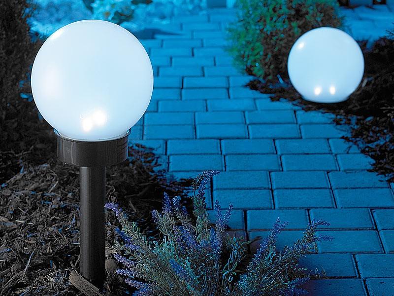 Светильники уличные шары