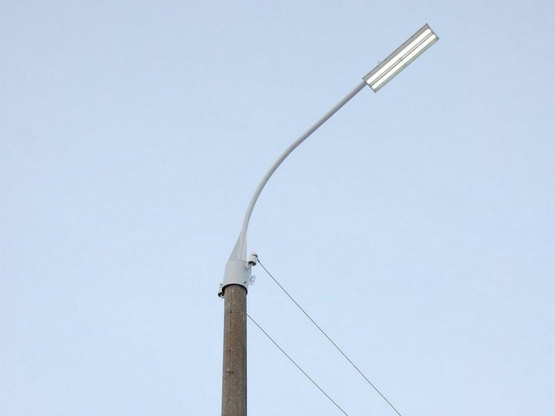 Светодиодные уличные светильники на столбы