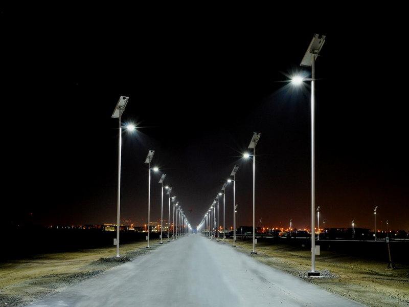 Уличный лед фонарь центрального освещения