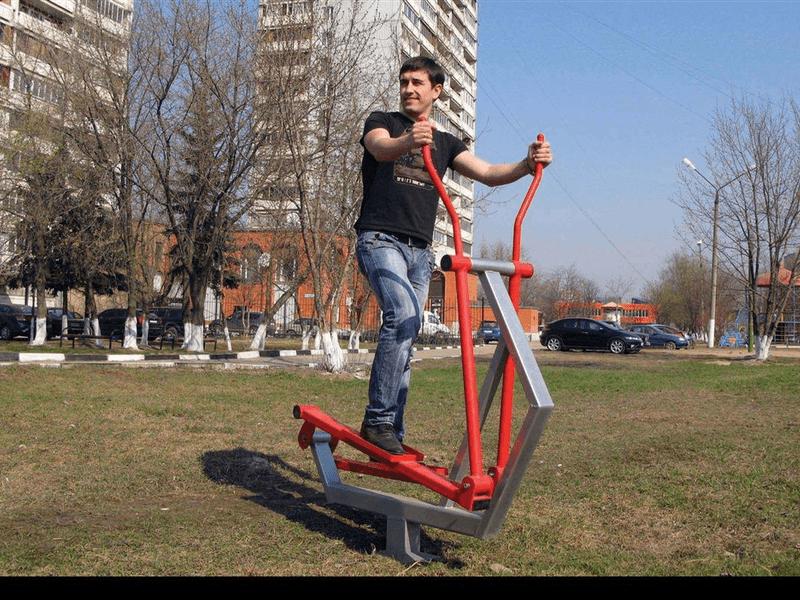 Уличный тренажер эллипсоид