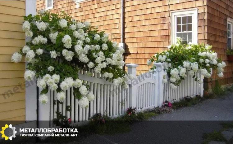 Декоративные садовые ограждения
