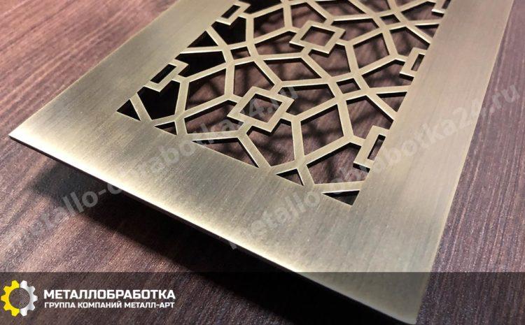 Декоративные решетки латунь