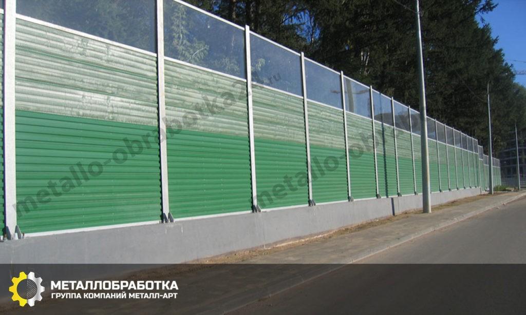Шумопоглощающий забор для дачи