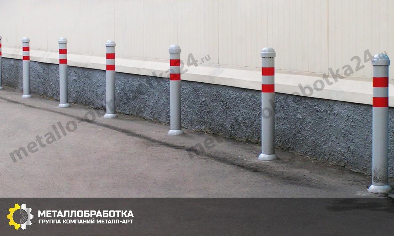 Уличные столбики ограждения