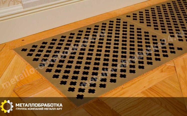 Вентиляционные решетки из латуни