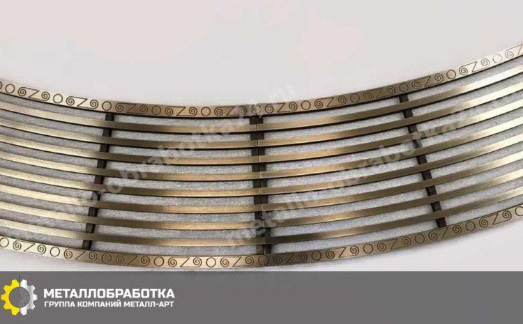 Вентиляционные латунные решетки