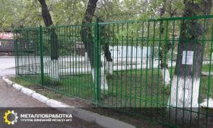 Забор сварной секционный