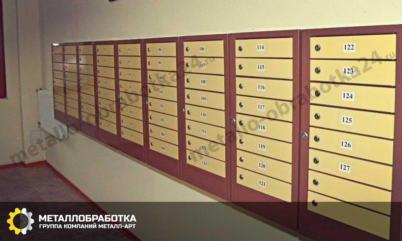 заказать антивандальные почтовые ящики