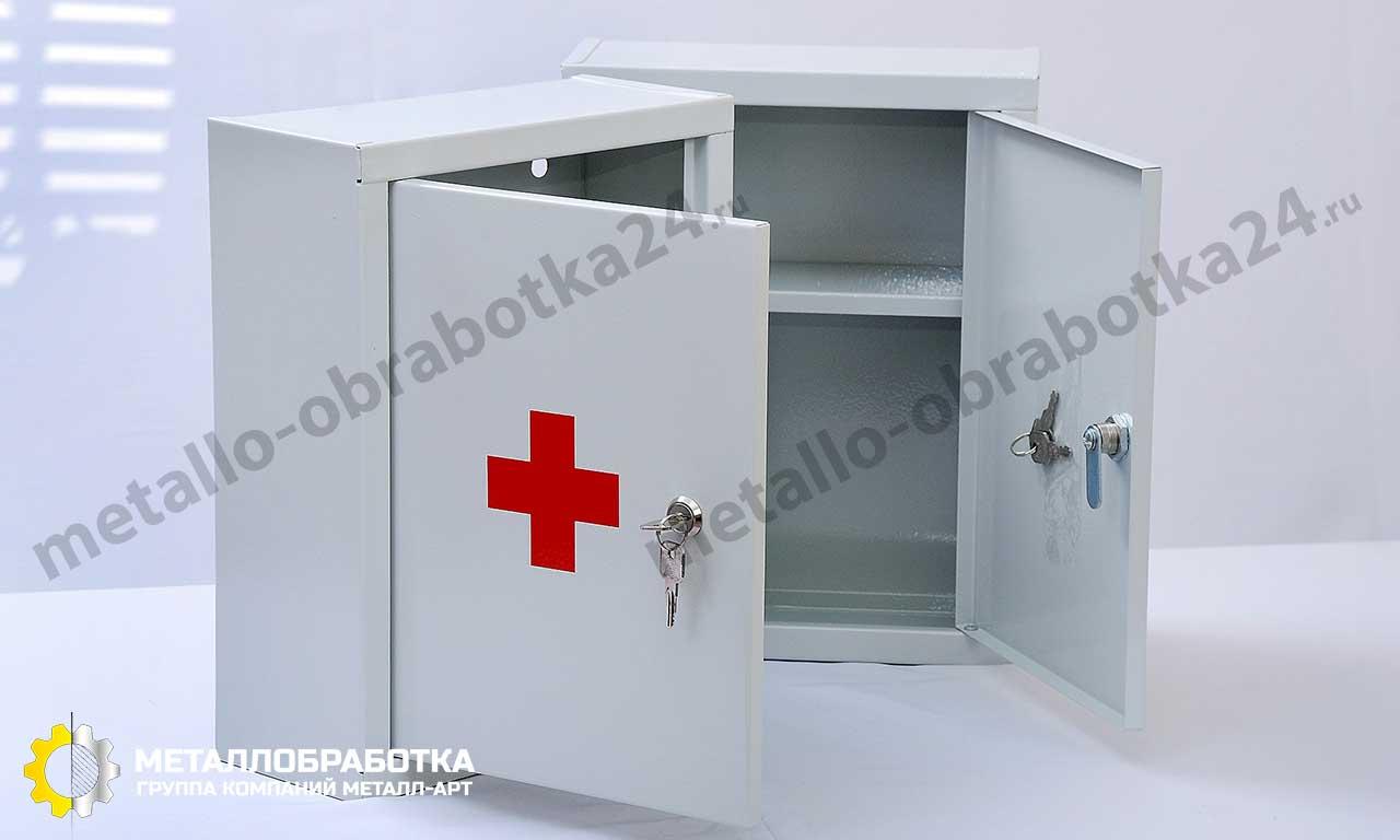 заказать медицинский металлический шкаф
