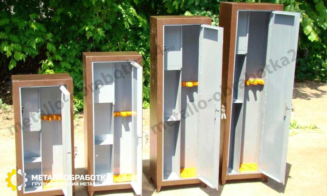 заказать металлический шкаф для хранения оружия