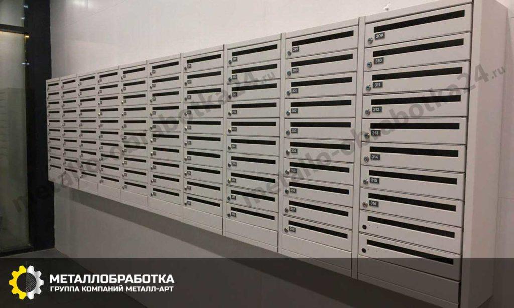 металлические почтовые ящики недорого
