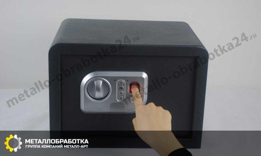 заказать сейф с отпечатком пальца