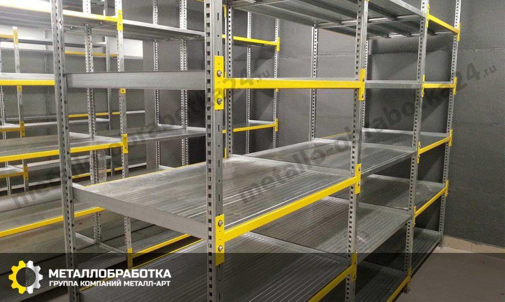 складские стеллажи металлические на заказ