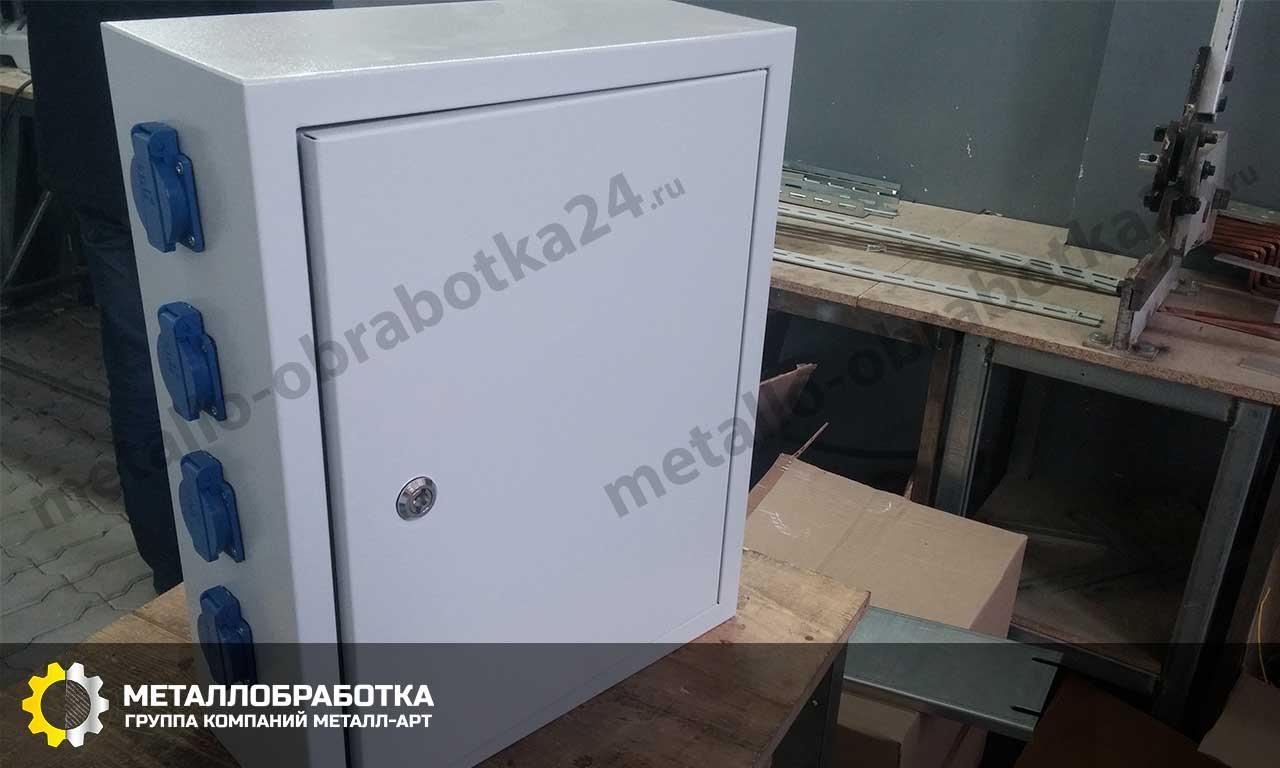 заказать ящик для электрики металлический