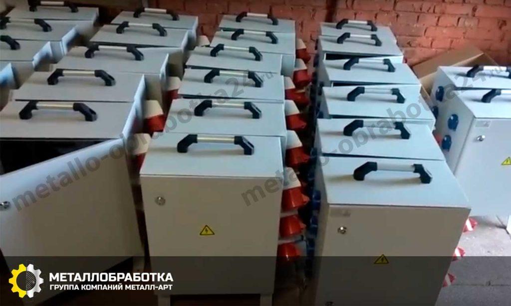 ящики металлические для электрооборудования на заказ