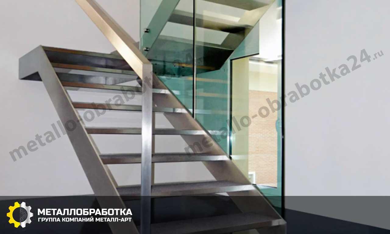 лестницы из нержавеющей стали на заказ