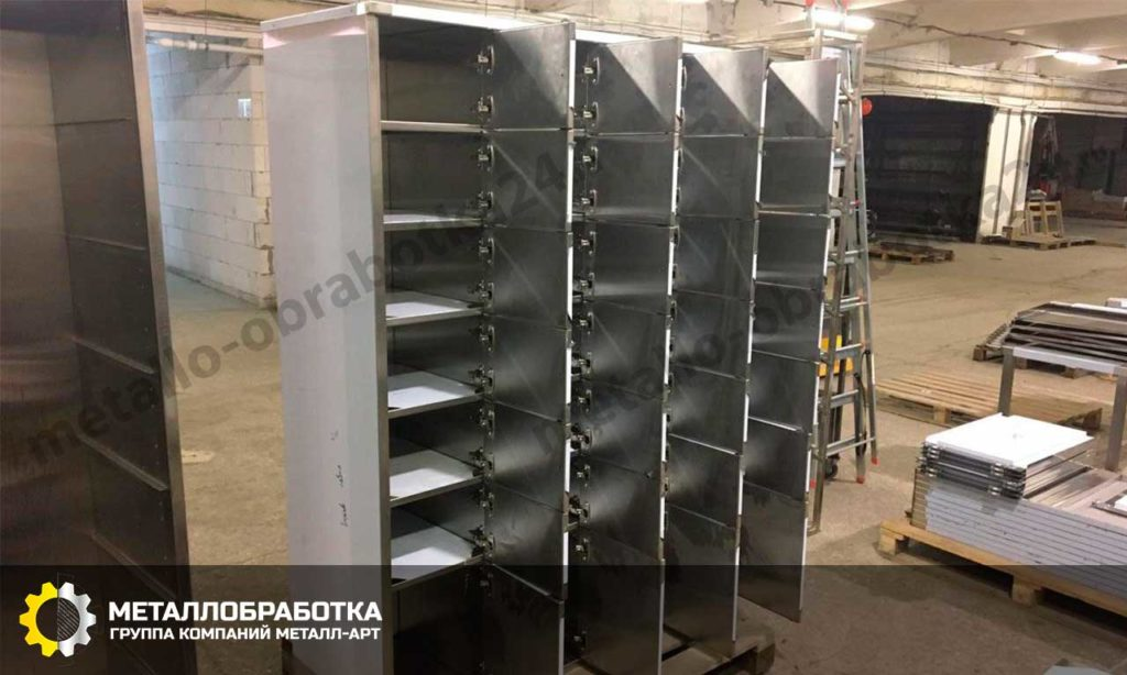 заказать шкафы из нержавеющей стали