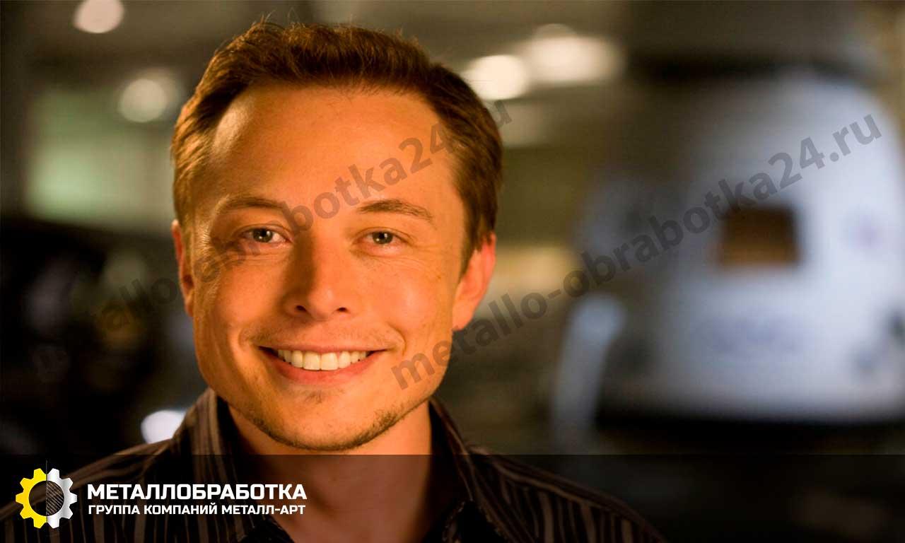 Илон Маск предприниматель